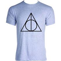 Camisa Camiseta Blusa Harry Potter Reliquias Da Morte