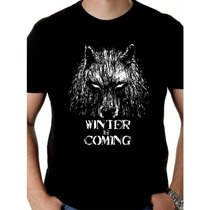 Camiseta Game Of Thrones - Camisa Winter Is Coming, Stark