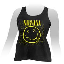 Regata Feminina Nirvana Smile.
