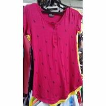 Blusinha Babylook Polo Camiseta Feminina Atacado