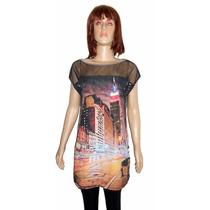 Blusa Camiseta Bata Feminina.use C/legging Frete Gratis