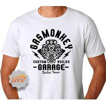 Camiseta Masculina Gasmonkey Garage Dallas Texas