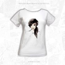 Camisa Feminina - Garota Linda - Promoção - Alta Qualidade