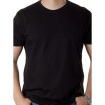 Camisetas Lisas Tamanho Especial Kit Com 10 Pçs 100%algodão