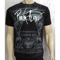 Camiseta De Banda Pink Floyd - Linha Premium