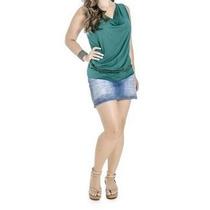 Blusa Feminina Viscose/devorê - Angerô Malhas