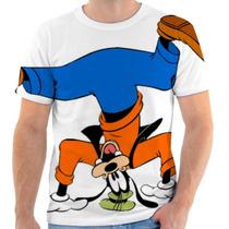 Camiseta Pateta Disney Desenho Estampada Adulto E Infantil