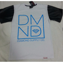 Camiseta Diamond Supply & Co. Manga Curta Importada