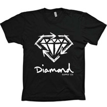 Camisetas Hip Hop Diamond Supply - Pharrell - 100% Algodão!!