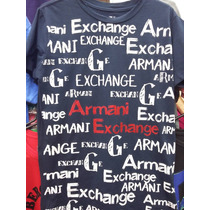 Camisetas Masculina Armani Exchange
