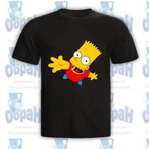 Camisetas Engraçadas Personalizadas Bart Simpsons Promoção