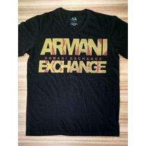 Camiseta Armani Exchange 100% Original Importada