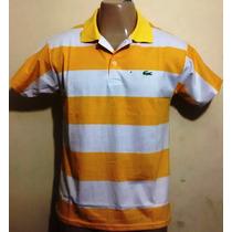 Kit C/ 3 Camisas Pólo Lacoste R$ 99,00