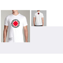 Camiseta Red Hot Chili Peppers Banda Rock Alta Qualidade