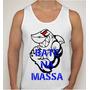Camiseta Regata Academia Bate Na Massa Tubarão Musculação