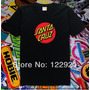 Camiseta Skate Santa Cruz Skateboard Black