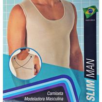 Cinta Modeladora Masculina Slim Postural Fitness