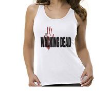 Camiseta Regata Série The Walking Dead - Feminino