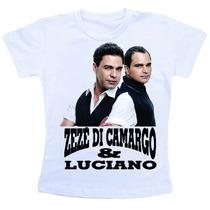 Camiseta Baby Look Feminina - Zeze Di Camargo E Luciano 3