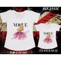 Camiseta Bela Adormecida Princesa Mãe E Filha T-shirt Com 2