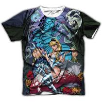 Acid Shop - Camiseta Psicodélica - Alice In Wonderland