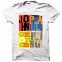 Camisa Camiseta Beatles Rock Luxo Moda Masculina Lançamento