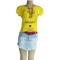 Kit Com 06 Blusas Femininas Marca Bacci Collection Atacado