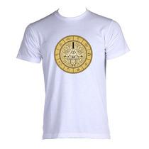 Camiseta Illuminati Piramide Olho Nova Ordem Símbolos 01
