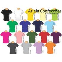 Camiseta Infantil 100% Poliester(sublimação) M.curta Lisa