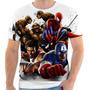 Camiseta Camisa Capitão América,coisa,homem Aranha Marvel