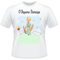 Camiseta O Pequeno Príncipe Raposa Frente Verso Camiseta #2