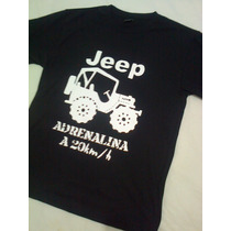 Camiseta Jeep Carro Automotivo Camisa Unisex