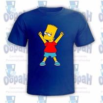 Camisetas Personalizadas Bart Simpsons Frete Grátis