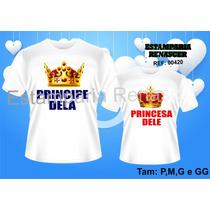Kit 2 Camisetas, Camisas Dia Dos Namorados - Amor, Casal