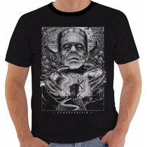Camiseta Ou Baby Look Frankenstein Mary Shelley Pb