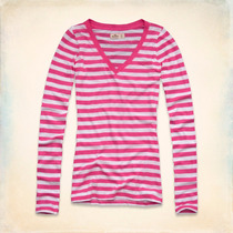 Camisetas Polos Blusas Abercrombie Hollister Aero Femininas