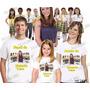 Lembrança De Aniversario Carrosel Camiseta Kit Com 3