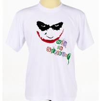 Camisa Camiseta Personalizada Filme Série Batman Coringa
