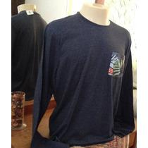 Hollister - Camiseta Lisa Manga Longa 100% Original!
