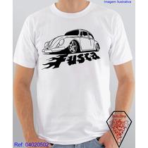 Camiseta Personalizada Estampa Carro Fusca