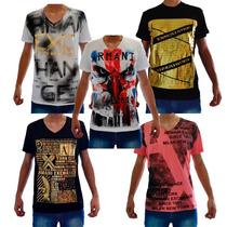 Kit Camisetas Armani Exchange Ax 10 Peças
