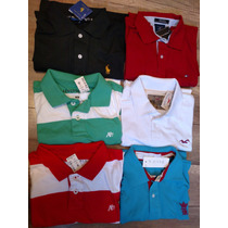 Camisetas Pólo De Várias Marcas Famosas