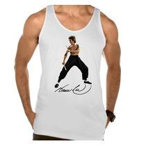 Camiseta Regata Adulto Bruce Lee Kung Fu Artes Marciais 04