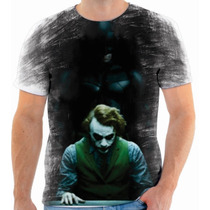 Camiseta, Camisa Batman Vs Coringa 13