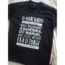 Camiseta O Machado Era De Assis... Preta