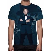 Camisa, Camiseta Filme 007 Contra Spectre - 2015