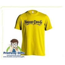 Camiseta Snoop Dogg - Temos Todas As Bandas!