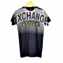 Camisa Armani Exchange Peruana Nova Coleção