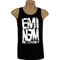 Camiseta Regata Masculina Eminem Bandas Rock Hip Hop