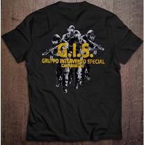 Camiseta G.i.s. - Grupo Especial De Intervenção Italiano